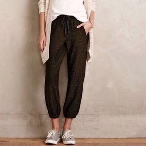 Anthropologie Cloth & Stone Cropped Joggers